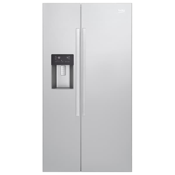 Side by Side BEKO GN162320X, 529 l, 182 cm, A+, usa inox antiamprenta