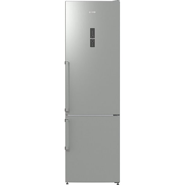 Combina frigorifica GORENJE NRK6203TX, Full No Frost, 334 l, H 200 cm, Clasa A+++, inox