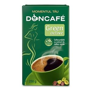 Cafea macinata DONCAFE Green Active 303194, 250gr