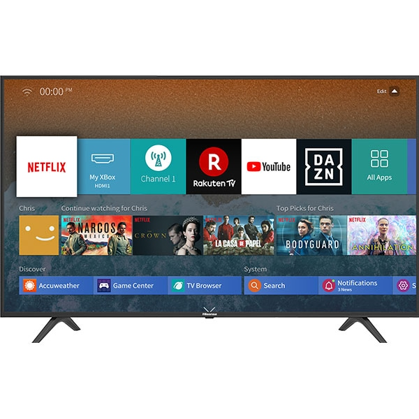 Televizor LED Smart HISENSE H65B7100, Ultra HD 4K, HDR, 163 cm