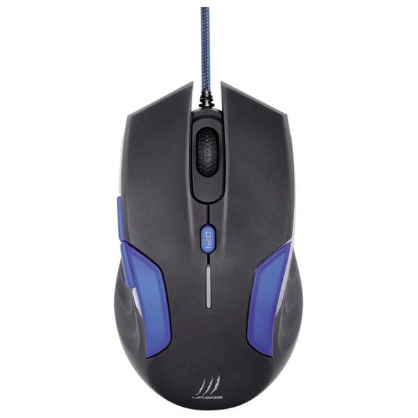 Mouse Gaming HAMA uRage Reaper 3090, 900 - 3500dpi, negru-albastru