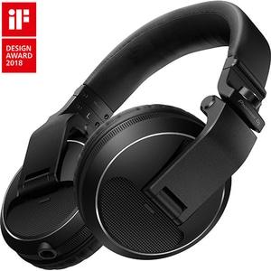 Casti PIONEER HDJ-X5-K, Cu Fir, Over-Ear, negru
