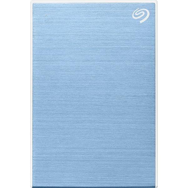 Hard Disk Drive portabil SEAGATE One Touch STKC5000402, 5TB, USB 3.2, albastru