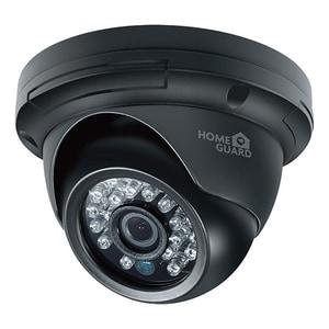 Camera supraveghere exterior/interior HOMEGUARD Dome CCTV HGPRO729, HD 720p, IR, Night Vision, negru