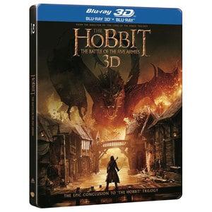 Hobbitul 3: Batalia celor cinci ostiri Blu-ray 3D Steelbook