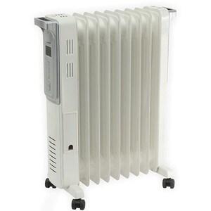 Calorifer electric HOME FKO 9 LCD, 9 elementi, 3 trepte putere, 2000W, alb