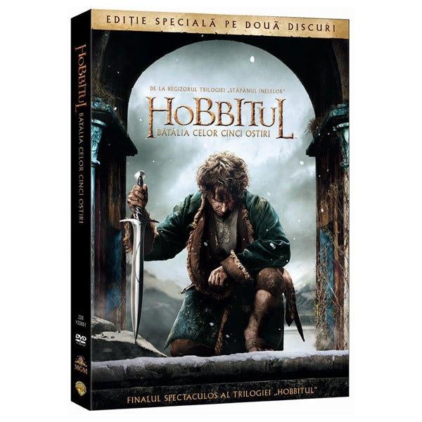 Hobbitul 3: Batalia celor cinci ostiri DVD