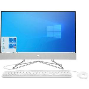 "Sistem PC All in One HP 27-dp0047nq, AMD Ryzen 5-4500U pana la 4.0GHz, 27"" Full HD Touch, 16GB, 1TB + SSD 256GB, AMD Radeon Graphics, Windows 10 Home, argintiu"