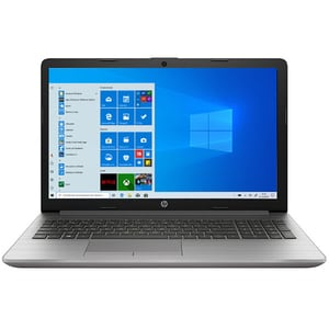"Laptop HP 250 G7, Intel Core i7-1065G7 pana la 3.9GHz, 15.6"" Full HD, 8GB, SSD 256GB, Intel Iris Plus Graphics, Windows 10 Pro, argintiu"