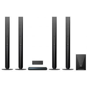 Sistem Home Cinema Blu-ray 3D SONY BDV-E6100, 5.1, 1000W, Wi-Fi, Bluetooth, NFC, Dolby, DTS, negru