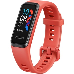 Bratara fitness HUAWEI Band 4 B29, Android/iOS, silicon, Sport Band Amber Sunrise