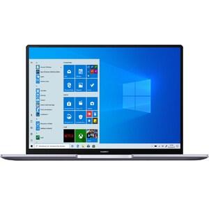 "Laptop HUAWEI MateBook 14, AMD Ryzen 5-4600H pana la 4.0GHz, 14"" QHD, 8GB, SSD 256GB, AMD Radeon Graphics, Windows 10 Home, argintiu"