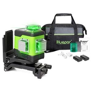 Nivela cu laser HUEPAR 503CG, raza 35m, negru-verde