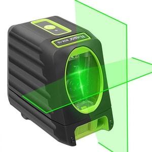 Nivela cu laser HUEPAR BOX-1G, raza 30m, negru-verde