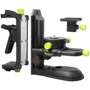 "Adaptor nivela laser  HUEPAR PV10, suport reglabil, filet 1/4""-20, 5/8""-11, negru"