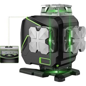 Nivela cu laser HUEPAR S04CG, raza 20m, negru-verde