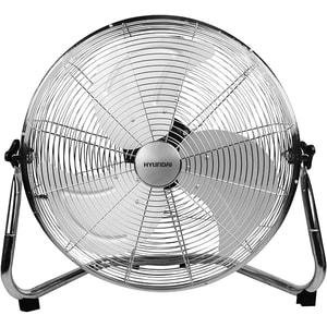 Ventilator de podea HYUNDAI HY FGD 18, 3 trepte viteza, 45cm, 100W, inox