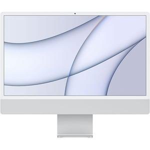 """Sistem PC All in One APPLE iMac (2021) mgpd3ze/a, 24"""" Retina 4.5K, Apple M1, 8GB, SSD 512GB, 8-core GPU, macOS Big Sur, Silver, Tastatura layout INT"""