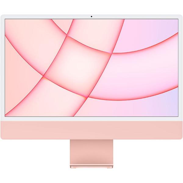 """Sistem PC All in One APPLE iMac (2021) mjva3ze/a, 24"""" Retina 4.5K, Apple M1, 8GB, SSD 256GB, 7-core GPU, macOS Big Sur, Pink, Tastatura layout INT"""