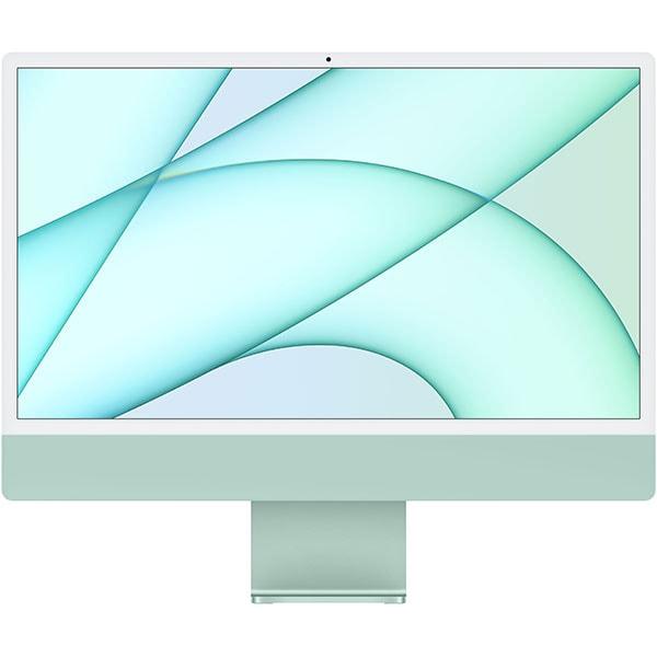 """Sistem PC All in One APPLE iMac (2021) mgpj3ro/a, 24"""" Retina 4.5K, Apple M1, 8GB, SSD 512GB, 8-core GPU, macOS Big Sur, Green, Tastatura layout RO"""