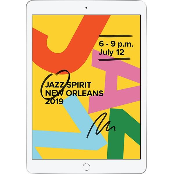 """Tableta APPLE iPad 7, 10.2"""", 128GB, Wi-Fi, Silver"""