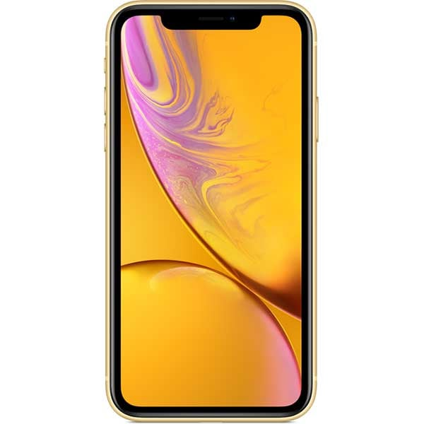 iPhone Xr, 64GB, Yellow