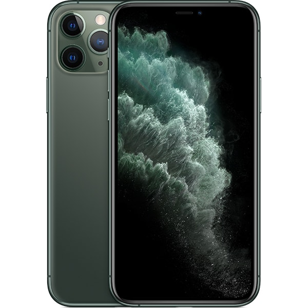 iPhone 11 Pro, 256GB, Midnight Green