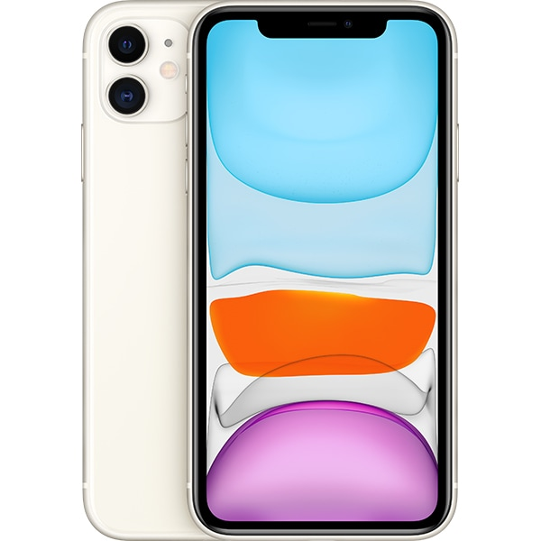 iPhone 11, 128GB, White