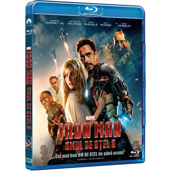 Omul de otel 3 Blu-ray