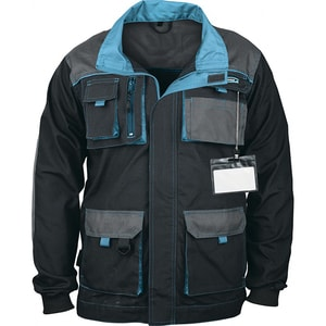 Jacheta de protectie GROSS, marime L, albastru-negru