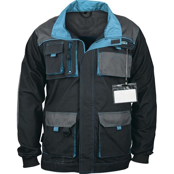 Jacheta de protectie GROSS, marime 3XL, albastru-negru