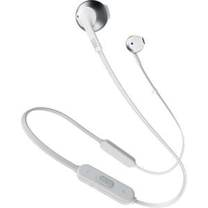 Casti JBL TUNE 205BT, Bluetooth, In-Ear, Microfon, alb