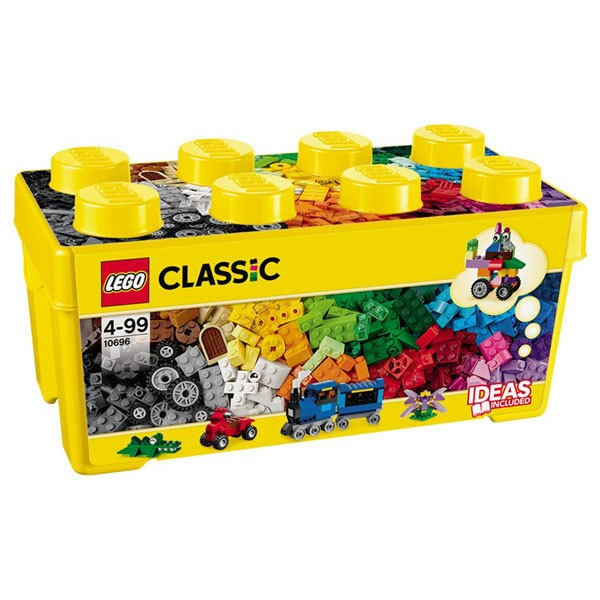 LEGO Classic: Cutie medie de constructie creativa 10696, 4 ani+, 484 piese