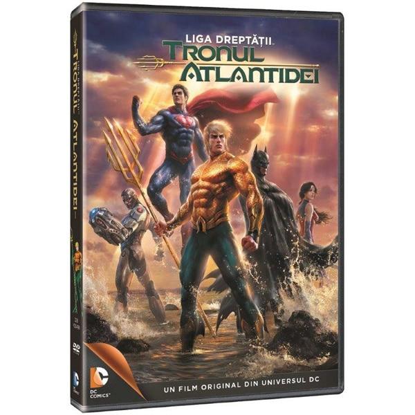 Liga Dreptatii - Tronul Atlantidei DVD
