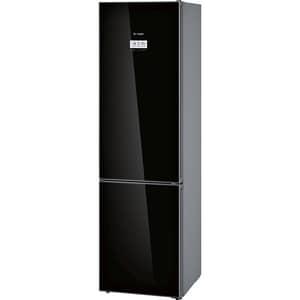 Combina frigorifica BOSCH KGF39SB45, No Frost, 343 l, H 203 cm, Clasa A+++, negru