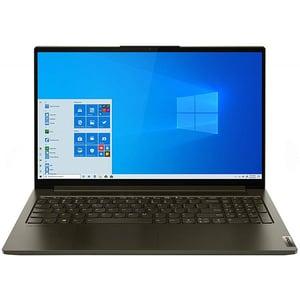 "Laptop Gaming LENOVO Yoga Creator 7 15IMH05, Intel Core i7-10750H pana la 5.0GHz, 15.6"" Full HD, 16GB, SSD 1TB, NVIDIA GeForce GTX 1650 4GB, Windows 10 Pro, verde inchis"