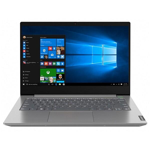 "Laptop LENOVO ThinkBook 14 IIL, Intel Core i7-1065G7 pana la 3.9GHz, 14"" Full HD, 16GB, SSD 512GB, Intel Iris Plus Graphics, Windows 10 Pro, gri"