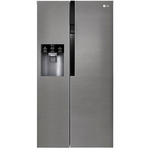 Side-by-Side LG GSL360ICEV, 591 l, 179 cm, A+, argintiu