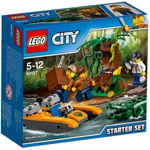LEGO City: Set de jungla pentru incepatori 60157, 5 - 12 ani, 88 piese
