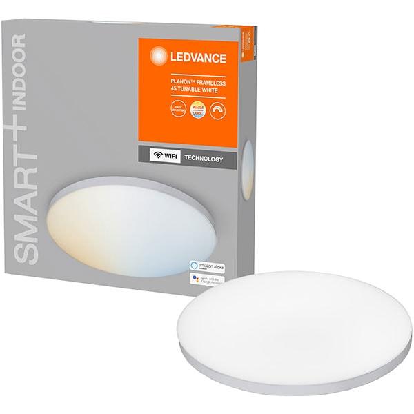 Plafoniera LED LEDVANCE Planon 450, 28W, 2700lm, Wi-Fi, lumina variabila, alb