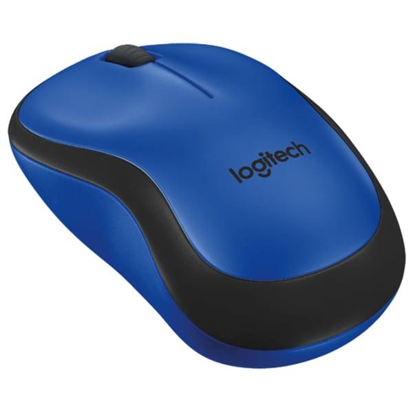 Mouse Wireless LOGITECH M220 Silent, 1000 dpi, albastru
