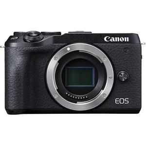 Aparat foto Mirrorless CANON EOS M6 Mark II, 32.5 MP, Wi-Fi, negru, Body