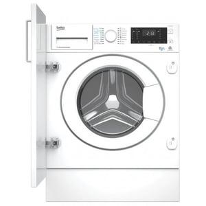 Masina de spalat rufe incorporabila cu uscator BEKO HITY854310F, 8/5kg, 1400rpm, Clasa A, alb