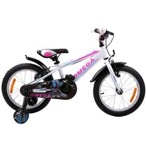 "Bicicleta copii OMEGA Master 2018, 20"", alb"