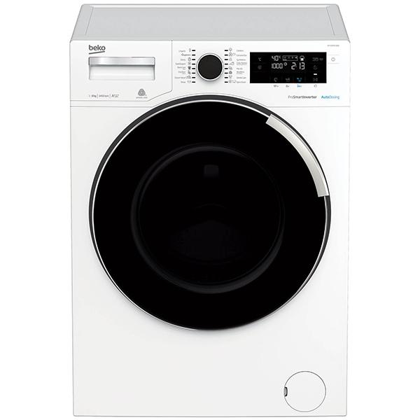 Masina de spalat rufe frontala BEKO WTV8744XDW, AddGarment, 8kg, 1400rpm, Clasa A+++, alb