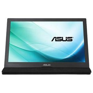 """Monitor portabil LED IPS ASUS MB169C+, 15.6"""", Full HD, argintiu-negru"""