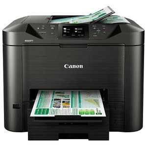 Multifunctional inkjet CANON MAXIFY MB5450, A4, USB, Retea, Wi-Fi