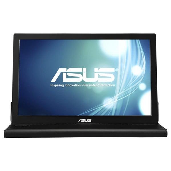 """Monitor portabil LED TN ASUS MB168B, 15.6"""", HD, 60Hz, argintiu-negru"""