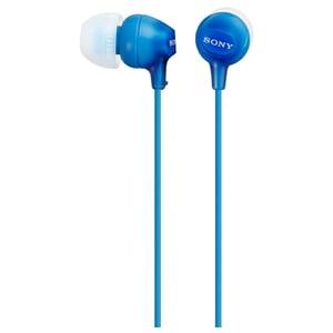 Casti SONY MDR-EX15LPLI, Cu Fir, In-Ear, albastru