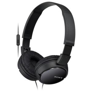 Casti SONY MDR-ZX110APB, Cu Fir, On-Ear, Microfon, negru
